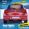 For Suzuki Swift Dark / Red LED Rear Lights Assembly LED Tail Lamps 2017-2019