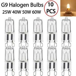 10 X G9 Halogen 25W 40W 50W 60W Replace Capsule Bulbs Warm White Filament Lamp