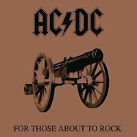 AC/DC - For Those About To Rock (180g 1LP Vinyl, Gatefold) 2013 Columbia