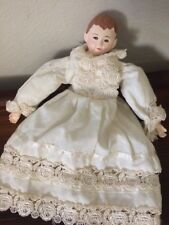 Antique Cloth Handmade Bean Bag Doll