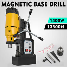 1400W MB-23 Magnetic Base Drill Press 23mm Boring 13500N Magnet Force Tapping