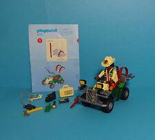 Playmobil Adventure, Dinosaurier ~Explorer Quad /Forscher-Quad (4176)& Anleitung