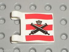 Drapeau flag LEGO PIRATES ref 2335px26 / Set 6242 6241 6253 ...