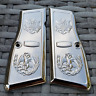BROWNING Grips HI POWER GRIPS Mexican Eagle Nickel Plated