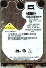 WD5000BMVW-11AJGS2  DCM: EHKTJHB   WESTERN DIGITAL USB 3.0 500GB