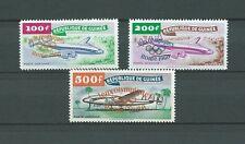 GUINÉE - 1960 YT 11 à 13 - POSTE AERIENNE - TIMBRES NEUFS** MNH