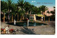 POSTCARD, Suez, The Moses Fountain, Cairo Postcard Trust, Serie 652, 1930s