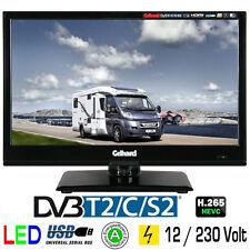 Gelhard GTV-1642 LED-TV 15,6 Zoll Fernseher DVB-S2-T2-C Full HD  12/230 Volt