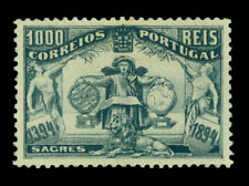 PORTUGAL 1894  Prince Henry the Sailor  1000r black Scott # 109 mint MH XF centr
