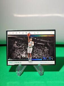 2020-21 Noir Feature Length SP /25 #252 Paul Pierce Boston Celtics R6220J