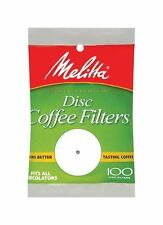 Melitta 628354 3.5 Disc Coffee Filter Paper White, 100 Count - 24 Packs