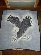 VTG.EAGLE.BIRD OF PREY.BIEDERLACK.REVERSIBLE. BLANKET