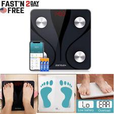 Smart Body Weight Scale Fat Bone BMI Digital Bluetooth Fitness Thanksgiving Gift