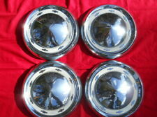 '55 Chevy Passenger Car 150/210 Hubcaps Set of 4 *Used