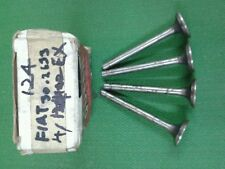FIAT 124 EXHAUST VALVE 1set (4pcs)