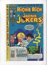 1979 Richie Rich and Jackie Jokers comic book