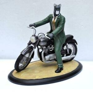Statuette BD - Blacksad sur sa moto - Attakus - Bombyx - 600ex - Guranido
