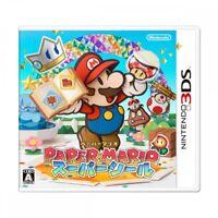 USED 3DS Paper Mario Super Seal