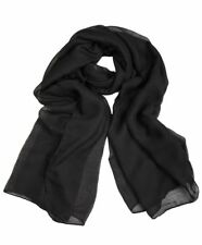 Ladies Womens Plain VISCOSE/RAYON Large Maxi Scarf Hijab Shawl Sarong Wrap