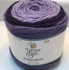 New ListingYarn Bee Sugarwheel Yarn Acrylic Color No. 19 Plum Crazy 7 Oz 355 Yds Free Ship