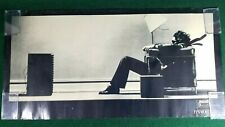 """VTG 70's MAXELL BLOWN AWAY CHAIR MAN CASSETTE TAPE PROMO POSTER """"IT'S WORTH IT"""""""