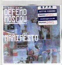 (AU380) Defend Moscow, Manifesto - DJ CD