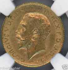 1913 Gold Great Britain 1 Sovereign NGC Grade MS 62 MAKE ME AN OFFER!!