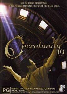 Operatunity (DVD, 2-Disc Set) Region 4 Very Good Condition