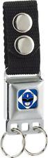 Key Chain Seat Belt Buckle Power Rangers Blue PRB