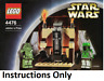 INSTRUCTIONS ONLY LEGO JABBA'S PRIZE 4476 Star Wars manual book from set