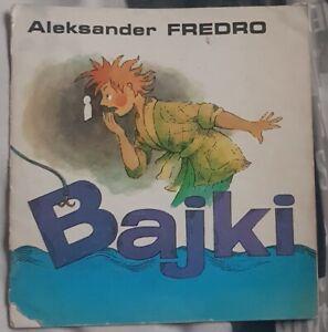 BAJKI Aleksander Fredro   Paperback 1985   Polish book polska ksiazka