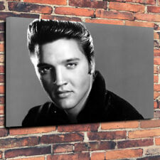 """Elvis Presley Rock and Roll Printed Canvas Picture A1.30""""x20"""" 30mm Deep Frame"""