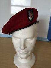 MILITARY BERET CAP WW II WHO DARES WINS BRITISH ARMY