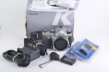 MINT PENTAX KP SILVER BODY, ONLY 90 SHUTTER COUNT!, 3BATTS, CHARGER, 3GRIPS++