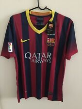 Nike Barcelona 2013/2014 Home Jersey Mens Size M