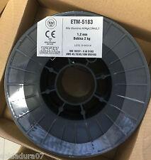 1 coil 2 Kgr Wire aluminum 5183 para Welding MIG 0 1/16in ALMg4,5Mn0,7