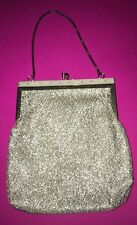 Art Deco Silver Clutch Bag