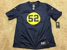 Nike Men's Green Bay Packers NFL Clay Matthews Throwback  Limited Jersey Size L