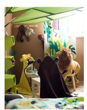 2 X IKEA LÖVA LOVA Green Leaf Children's Bed Canopy/Brand New