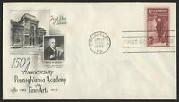#1064 3c Pennsylvania Academy, Art Craft-Addressed FDC **ANY 4=FREE SHIPPING**