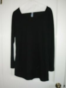 Lularoe Black Long Sleeve Top Size M