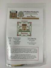 Little House Needleworks Cross Stitch Kit Berries Chart & Threads