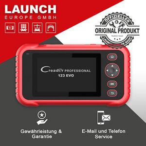 LAUNCH Creader Professional 123 EVO // Diagnosegerät OBD2 // Über 50 Automarken