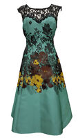 Phase Eight / 8 Blenheim Lace fit and flare dress Size 10 Worn twice RRP £150!!!