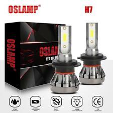 2x H7 LED Headlight Kit 1500W 225000LM High-Low Beam Bulb COB 6500K Lamp White