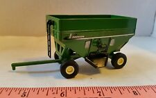 1/64 ERTL CUSTOM FARM TOY GREEN PARKER GRAVITY GRAIN WAGON BRENT UNVERFERTH NICE