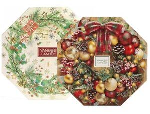 Yankee Candle Advent Calendar. Choice Of Festive Christmas Design. 24 Tea Lights