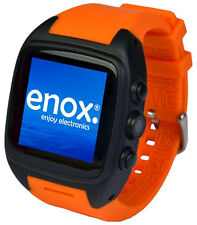 ENOX Wsp88 Android 4.4 Smartwatch Smartphone Handyuhr 20gb WLAN Kamera orange