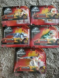 Jurassic World Park Dino Rivals Attack Pack NEW, Lot of 5