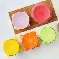 Silicone Food Wrap Reusable Seal Cover Stretch Fresh Keeping Kitchen Tools NEW